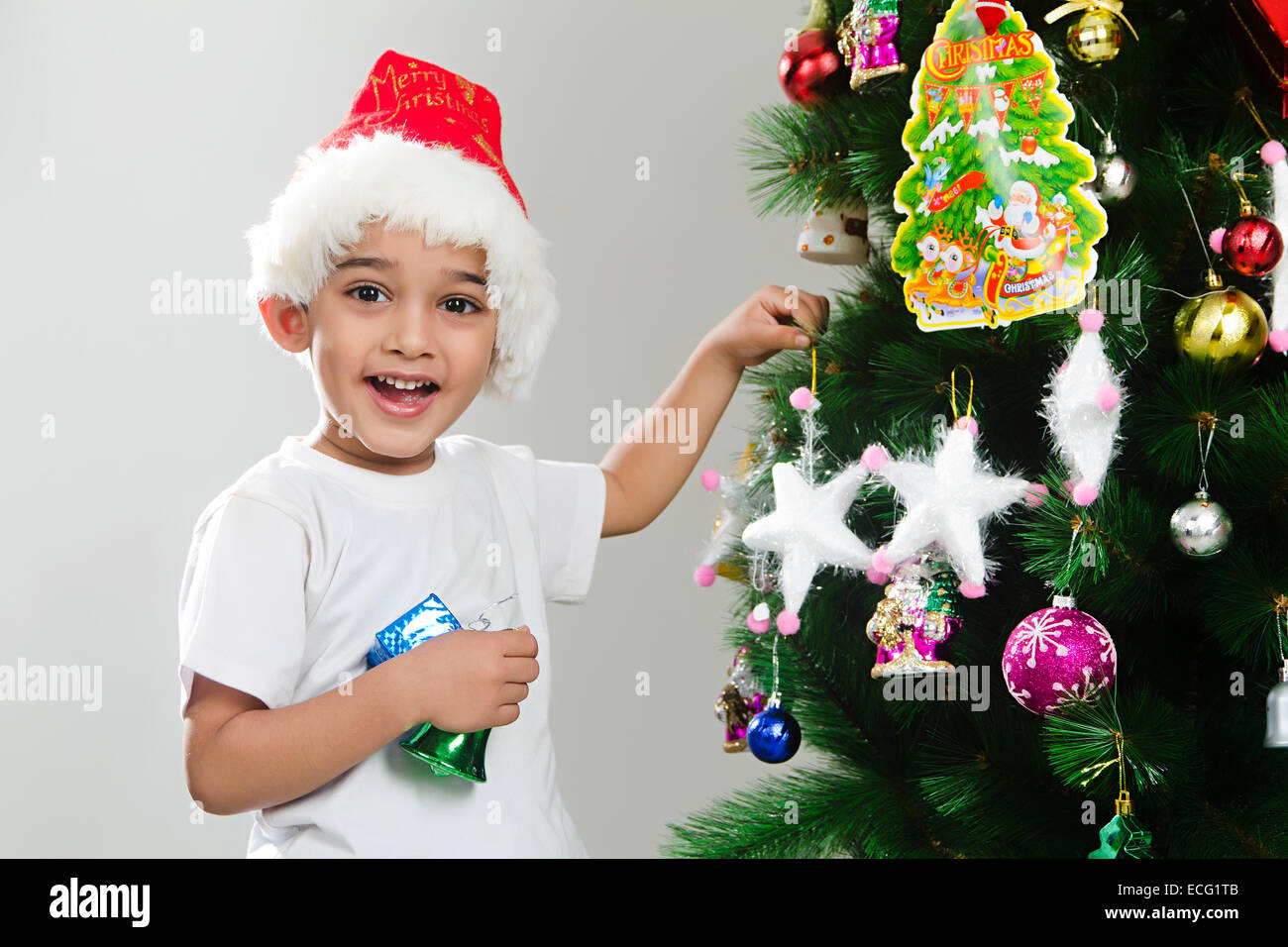 indian child Christmas Festival fun Stock Photo: 76570043 - Alamy