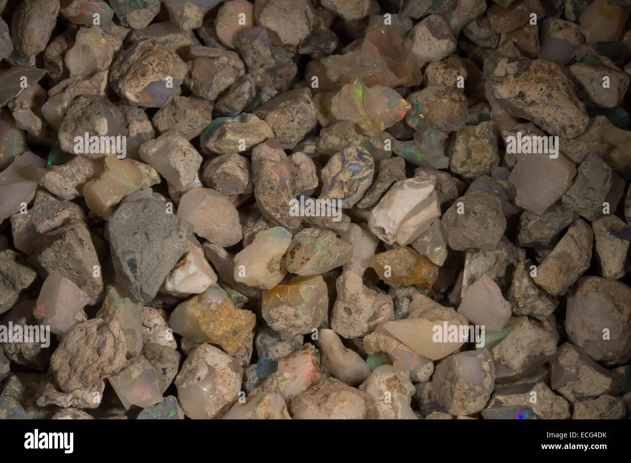 Raw opal, Ethiopia, Africa - Stock Image