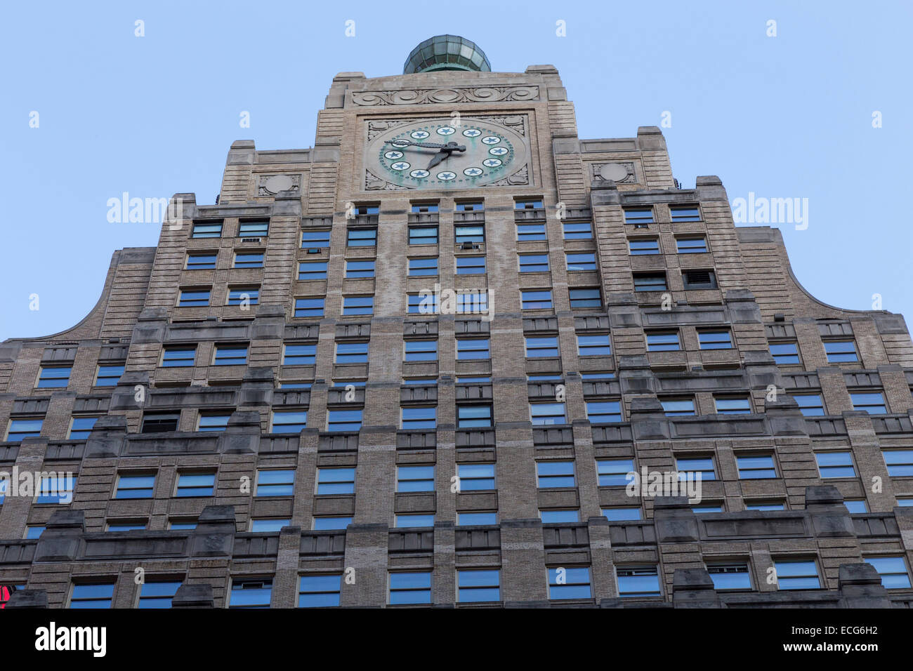 501 Broadway, also known as the Paramount Building, Times Square, New York - Stock Image