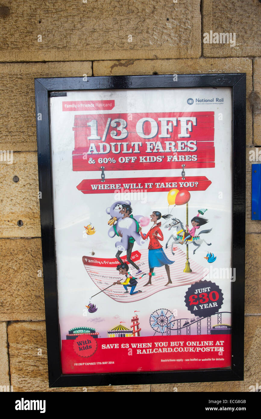 Family Friends Railcard Poster