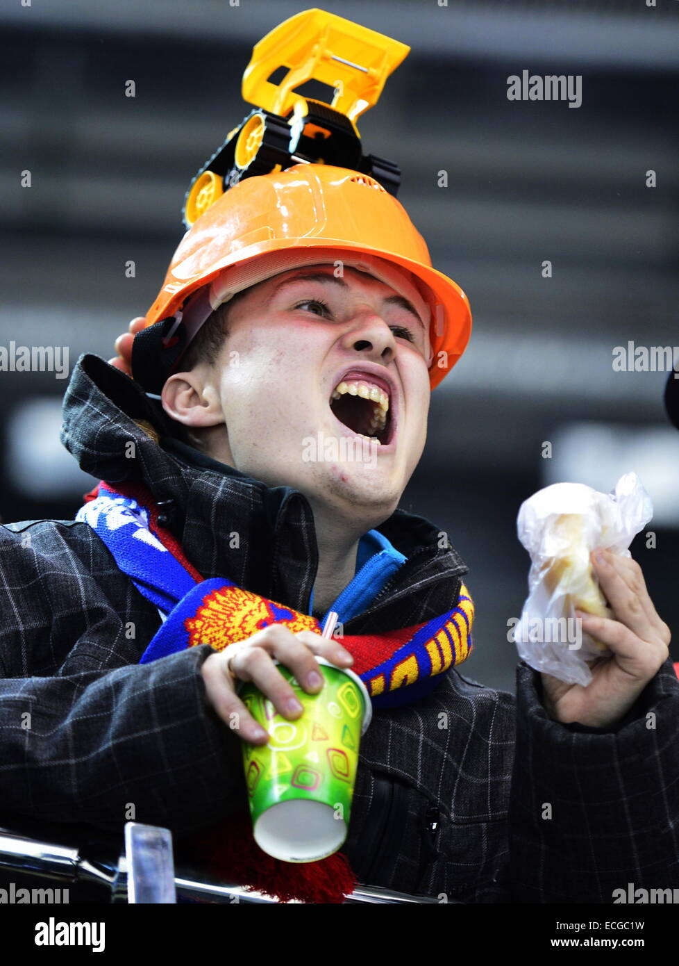 Image result for fan wearing hard hat
