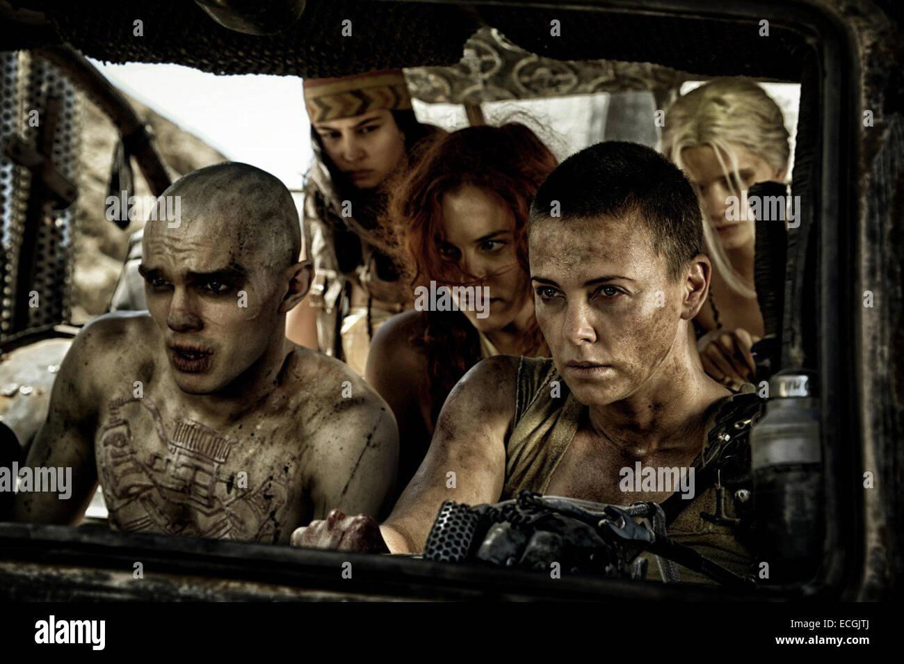 Mad Max: Fury Road is an upcoming post-apocalyptic action film directed, produced and co-written by George Miller, - Stock Image