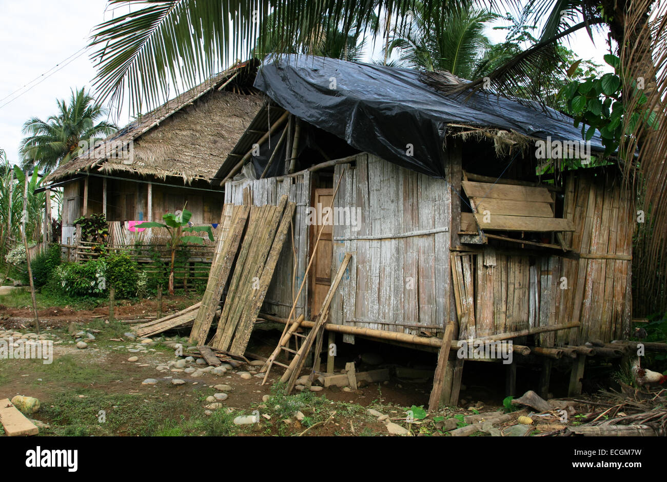 Housing in poverty stricken Ecuador Stock Photo - Alamy