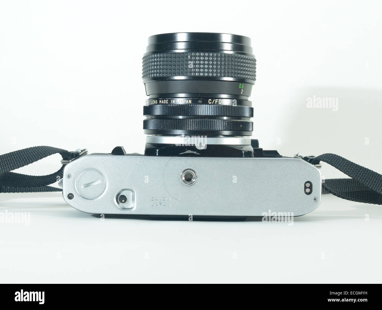 Canon AE1 SLR manual film camera Stock Photo