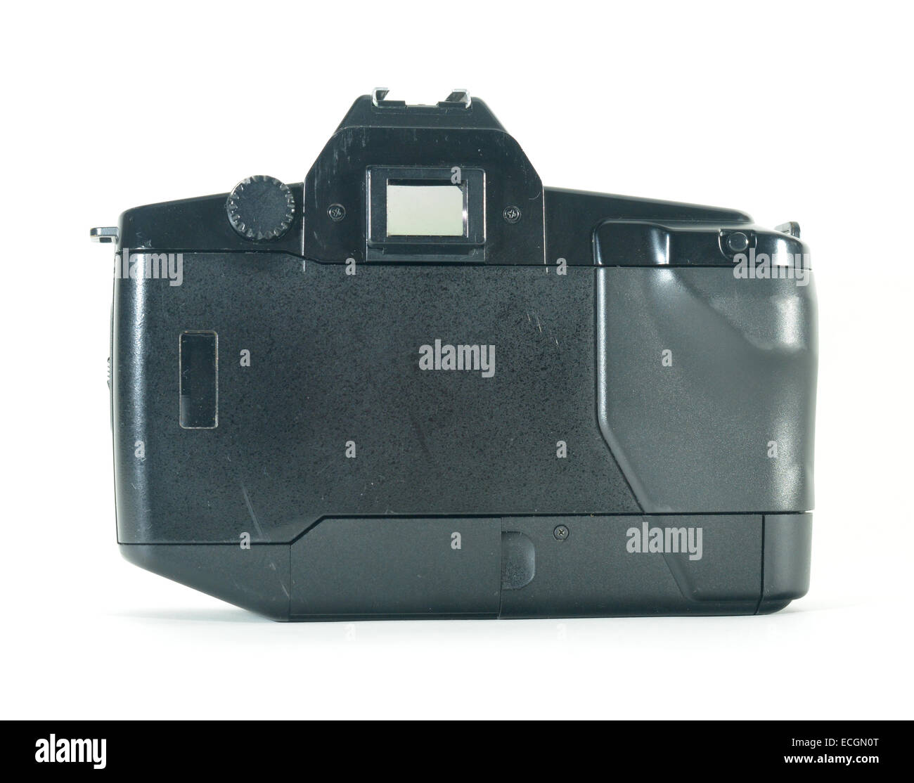 Canon EOS 650 SLR film camera, first generation of the auto focus range - Stock Image