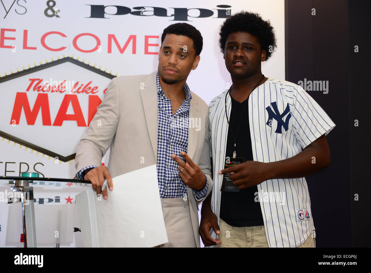 Michael Ealy Meet And Greet For Fans Held At Macys At Aventura Mall