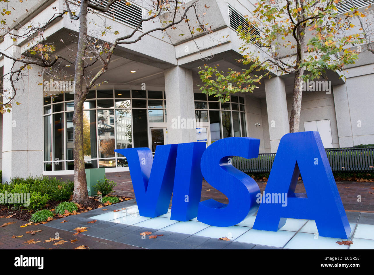 The headquarters of credit card provider Visa. - Stock Image