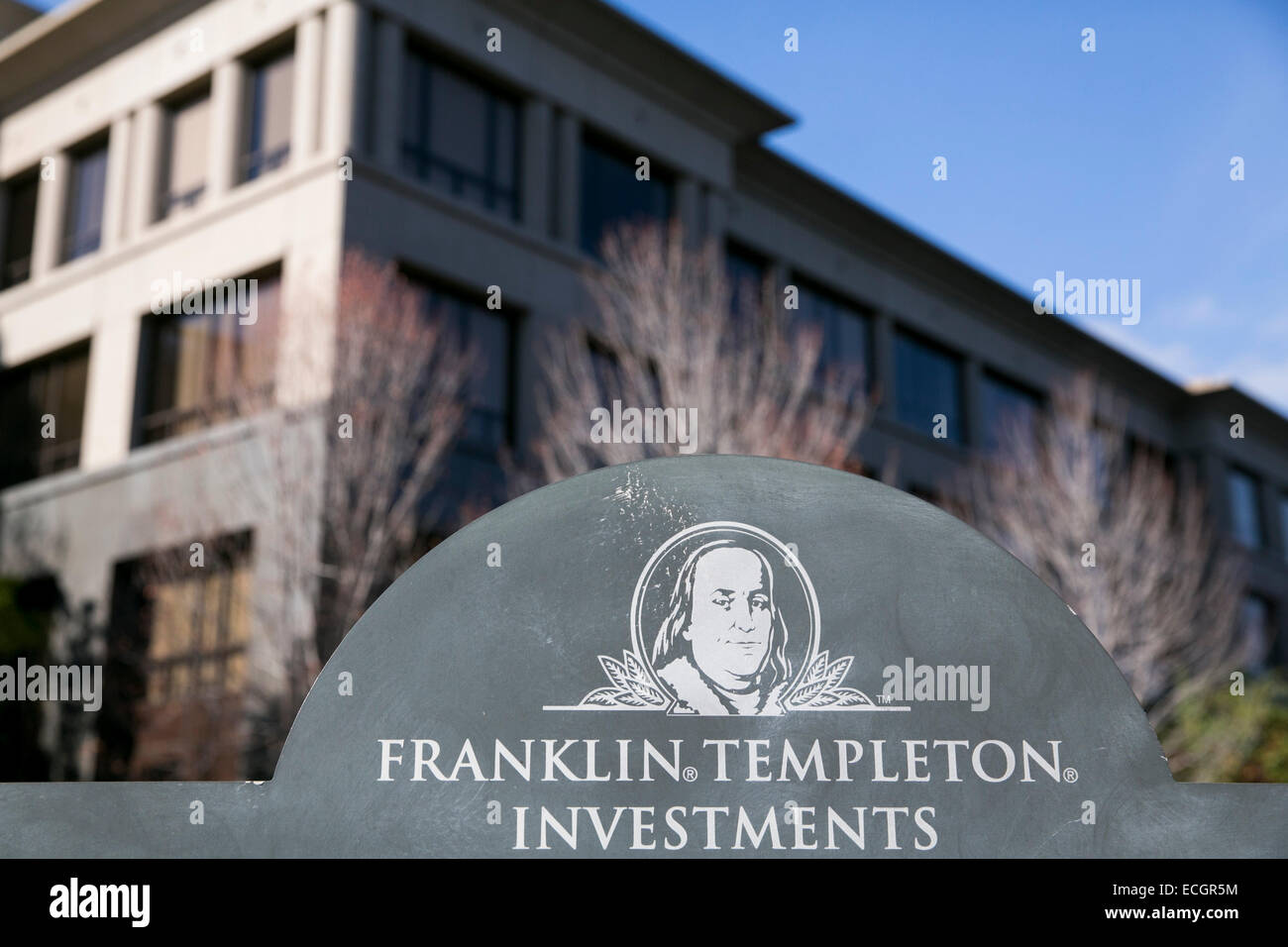 The headquarters of Franklin Templeton Investments. - Stock Image