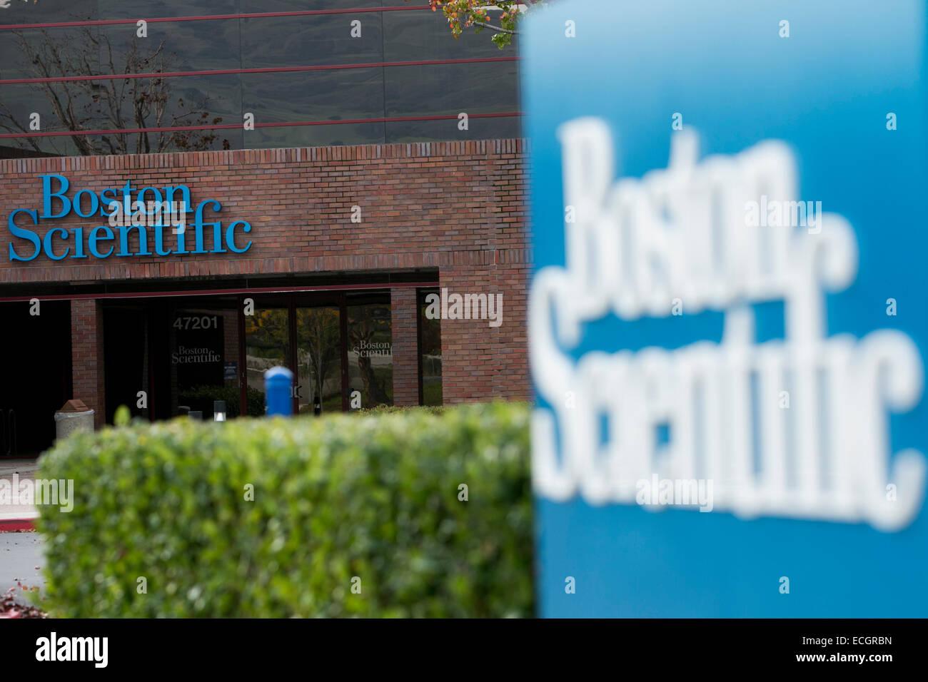 Boston Scientific Logo Sign Stock Photos & Boston Scientific