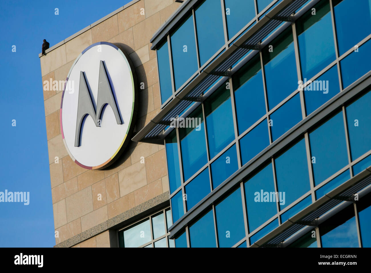 An office building occupied by Motorola Mobility. - Stock Image