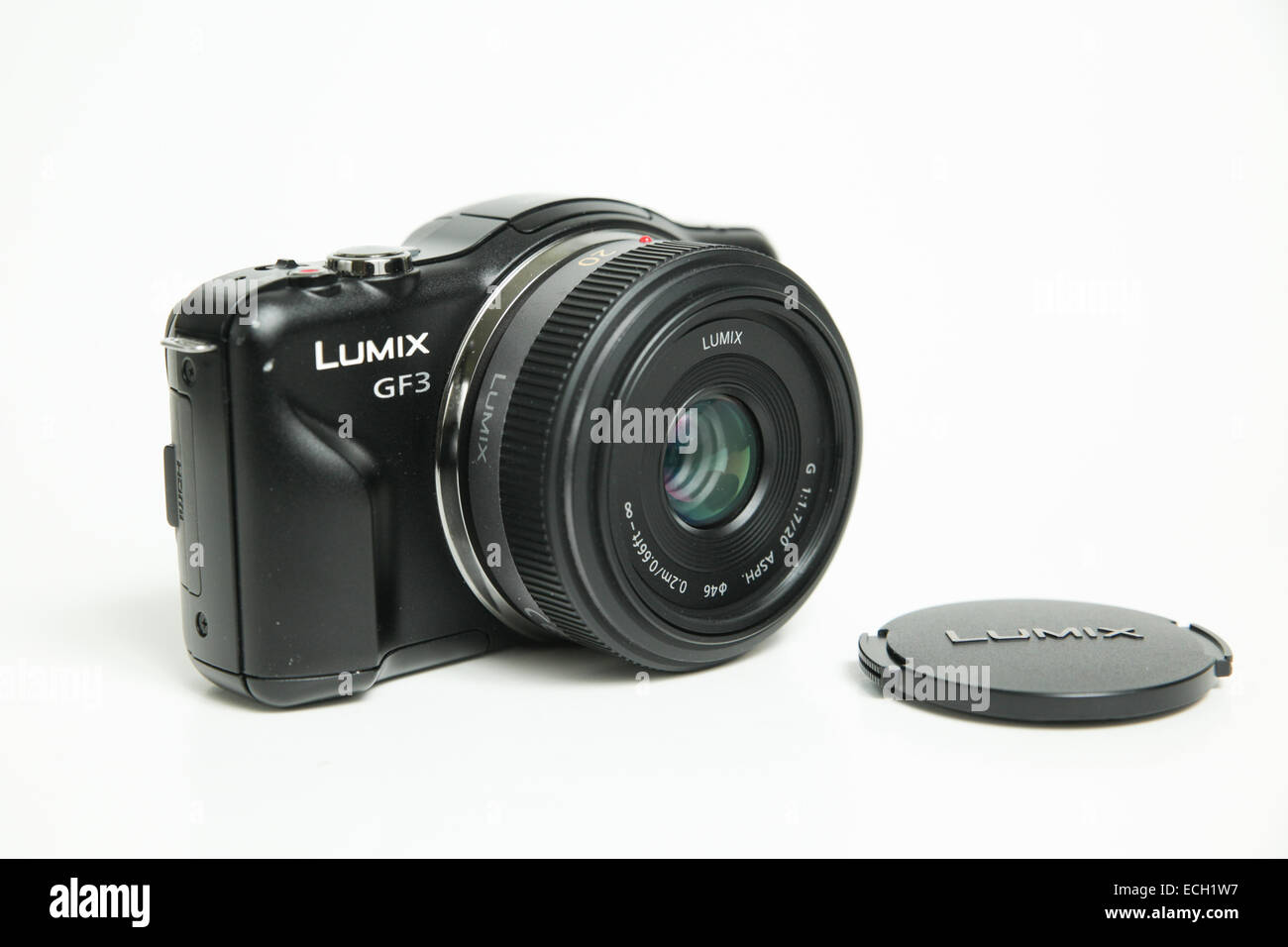 Panasonic micro four thirds camera GF3 - Stock Image