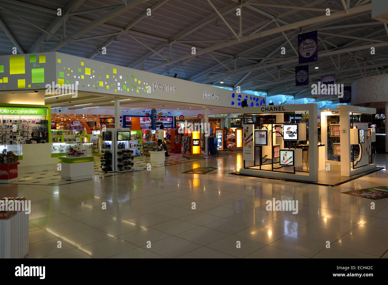 Duty Free Shops In The Departure Hall In Larnaca