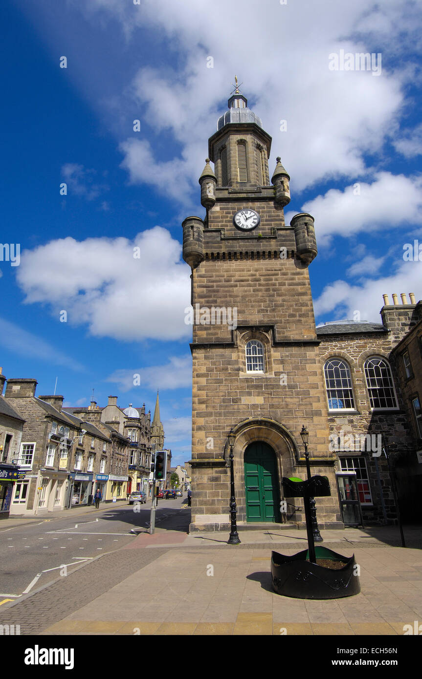 Forres, Moray, Aberdeenshire, Scotland, United Kingdom, Europe - Stock Image
