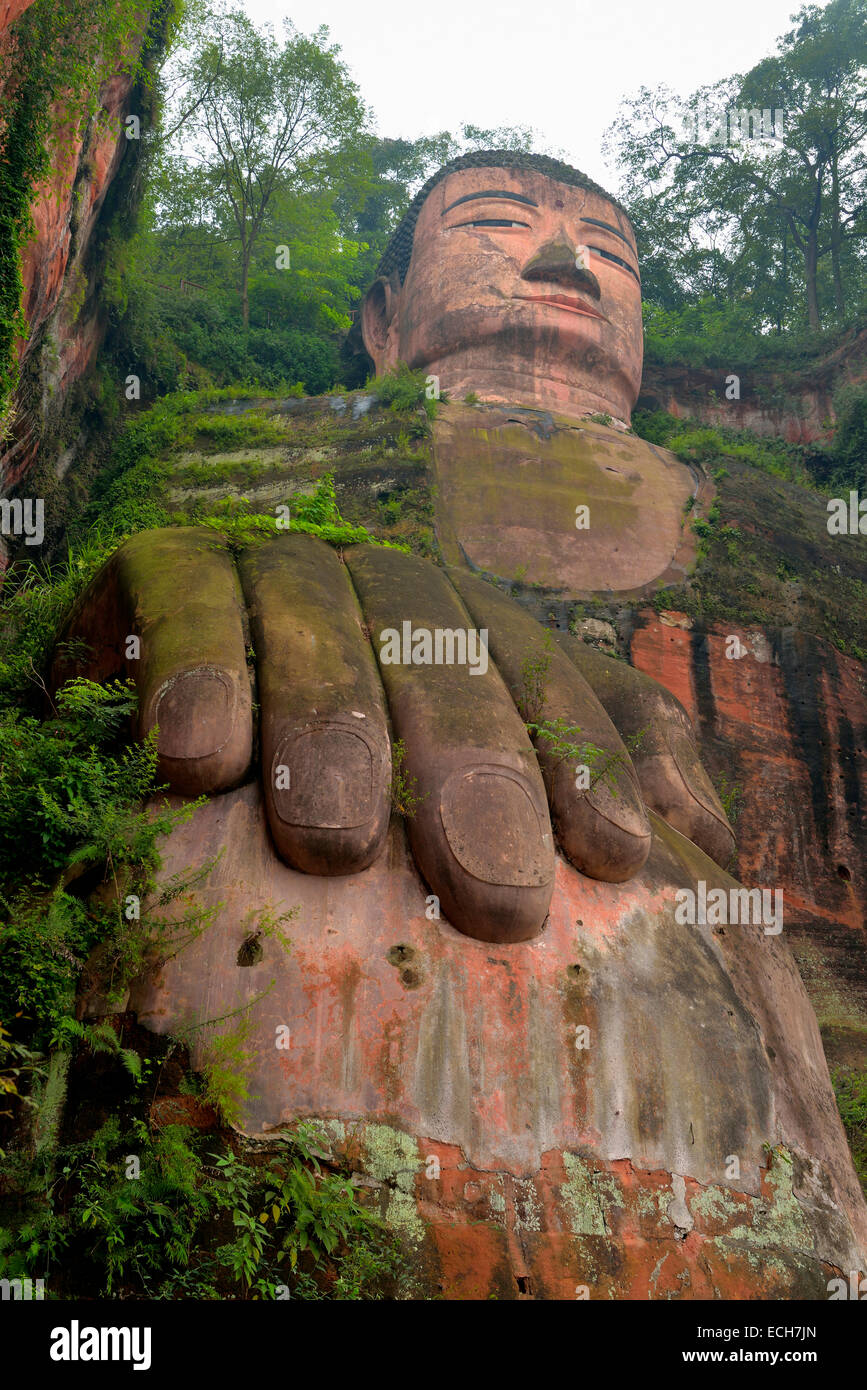 Giant Famous Rider Waite 78 Oversized Cards Tarot Deck: Largest Stone Buddha Statue In The World, Leshan Giant