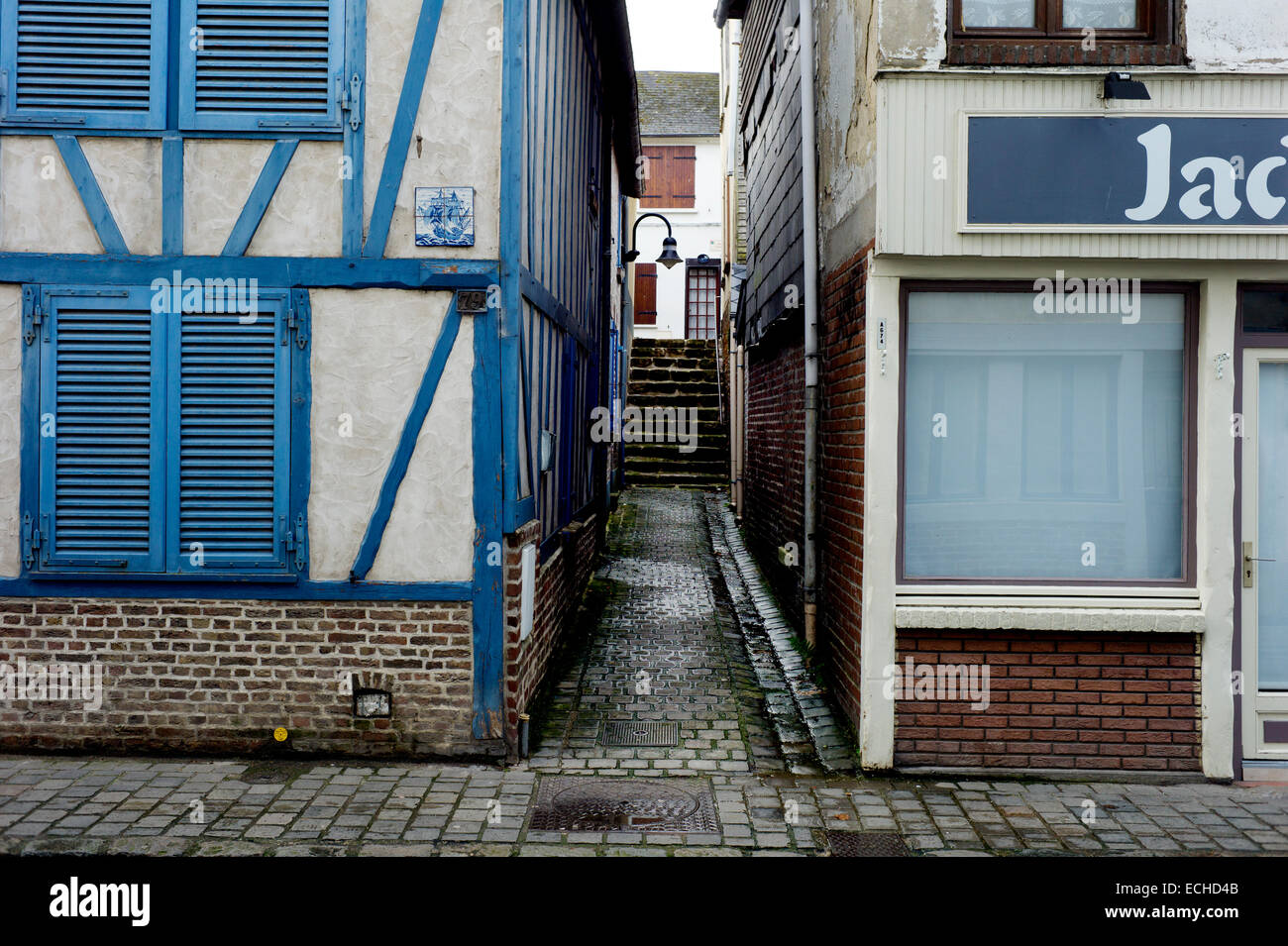 Saint-Valery-sur-Somme, Somme, France. December 2014 - Stock Image