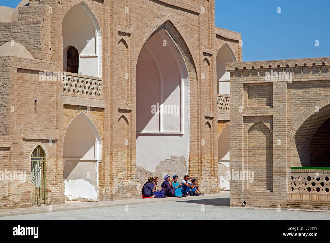 Mausoleum of Hoja Yusuf Hamadani in the ancient historic city of Merv / Merw near Mary, Turkmenistan - Stock Image