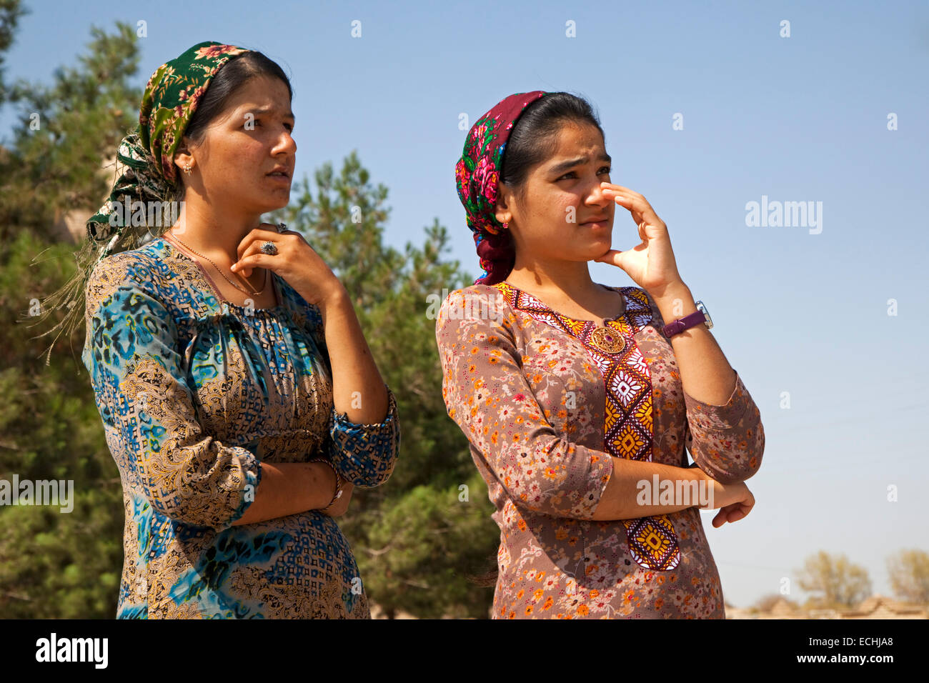 Traditional Turkmen Clothing Women