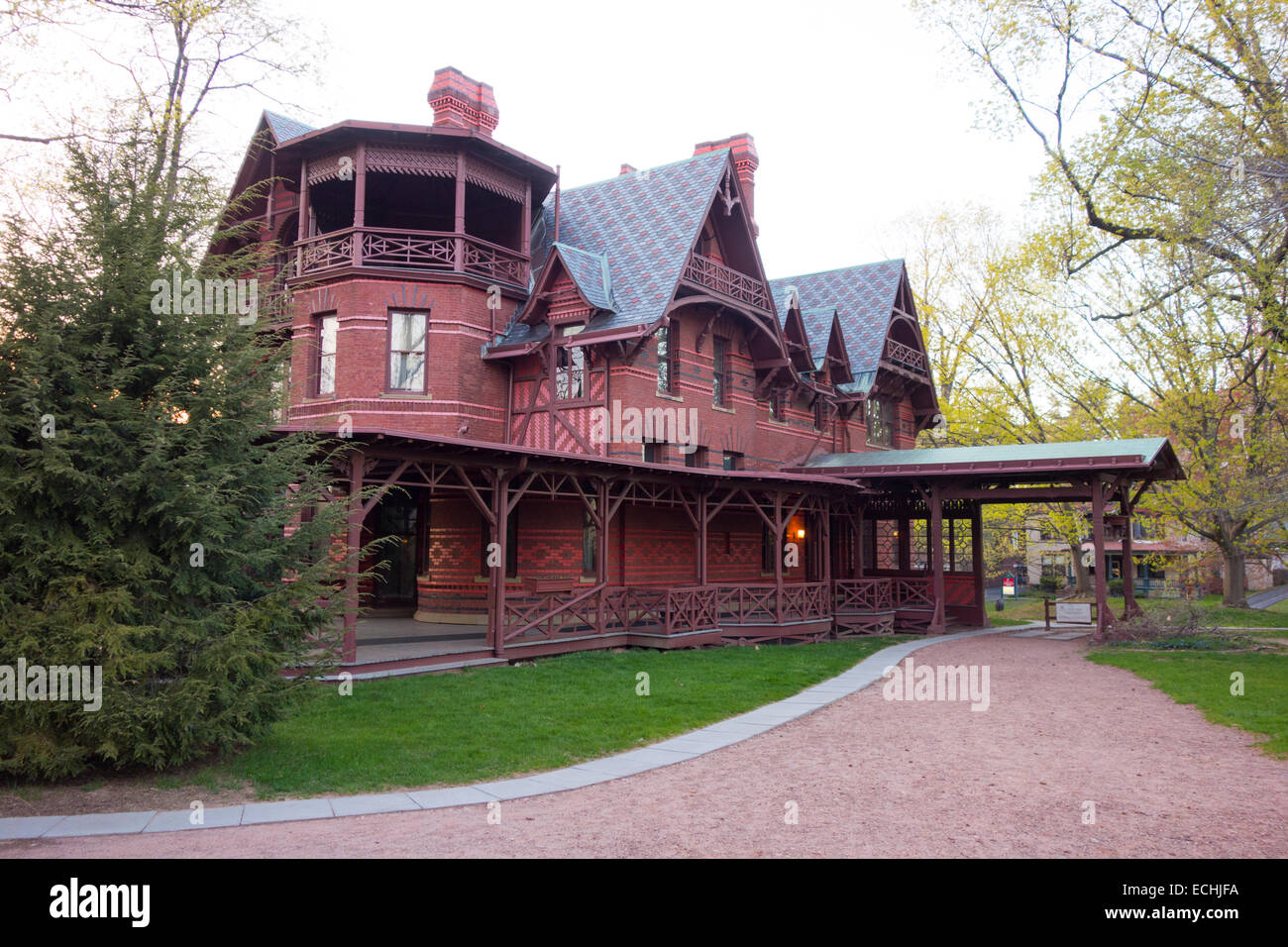 Mark Twain House And Museum In Hartford CT
