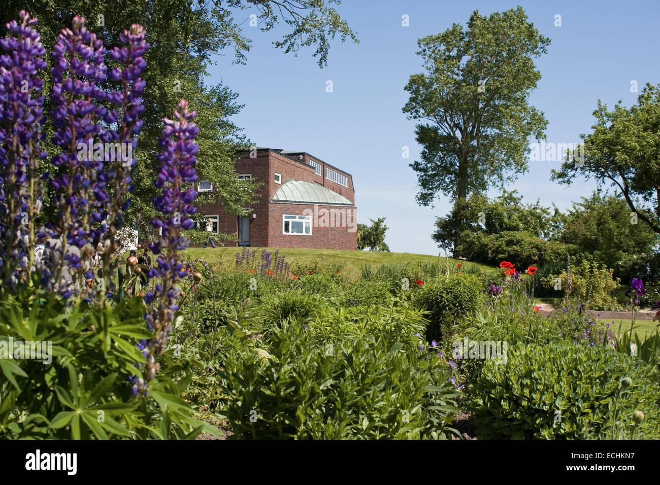 Europe, Germany, Schleswig Holstein, Neukirchen, Seebuell, Nolde Foundation, the Nolde Museum - Stock Image