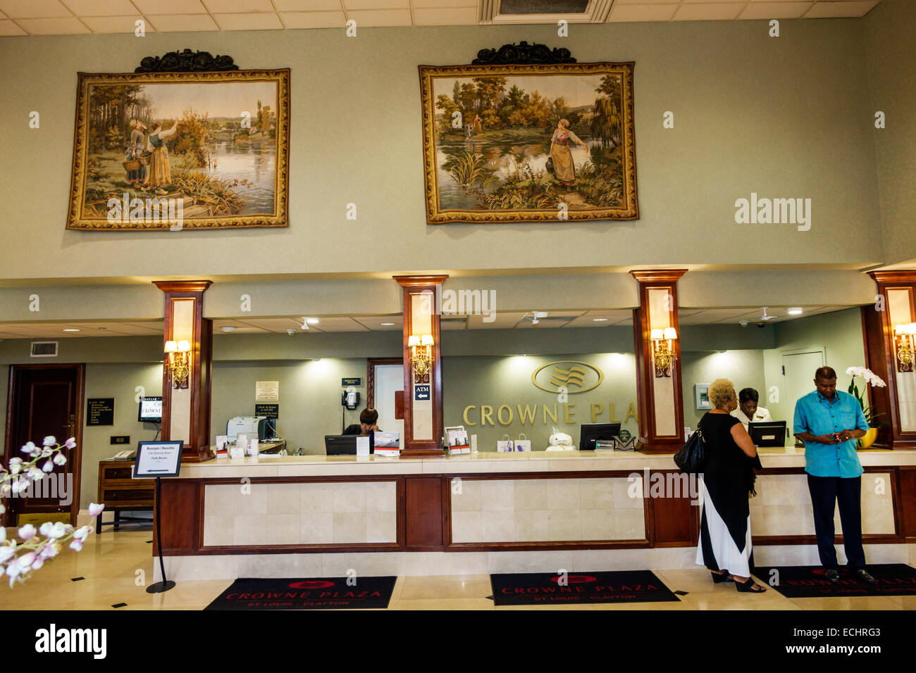 st  louis missouri saint clayton crowne plaza hotel chain