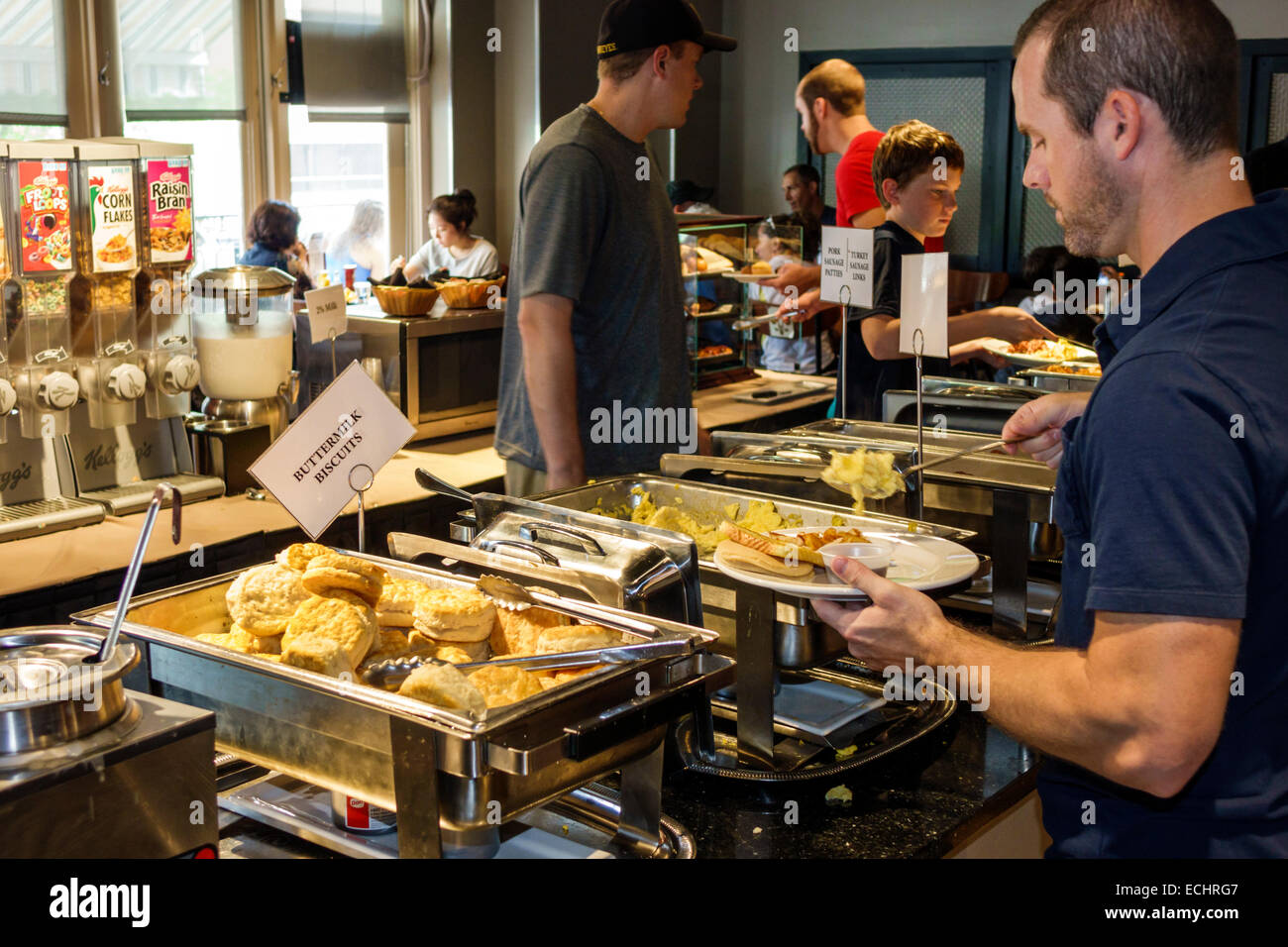 st louis missouri saint clayton crowne plaza hotel chain global rh alamy com breakfast buffet st louis missouri ari's breakfast buffet st. louis