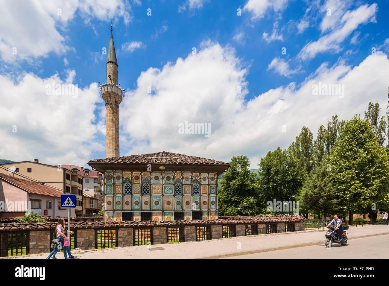 Republic of Macedonia, Tetovo, Ottoman mosque painted - Stock Image
