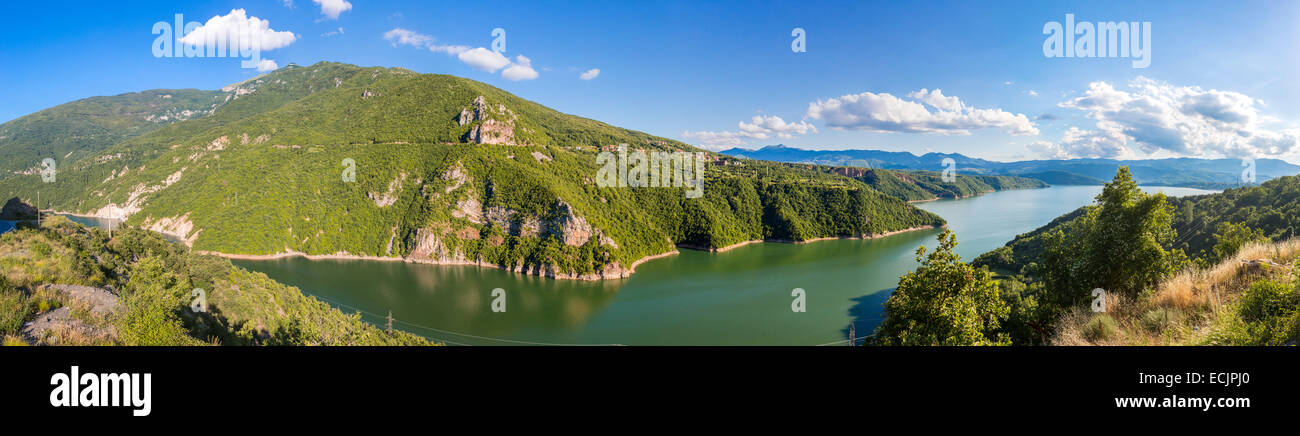 Republic of Macedonia, Lake Debar - Stock Image