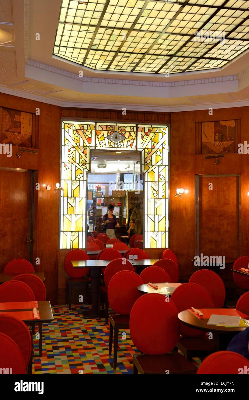 France, Marne, Reims, the Waida tearoom - Stock Image