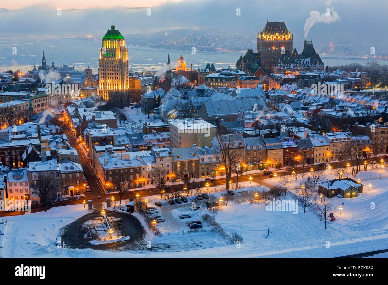 Quebec City and Province
