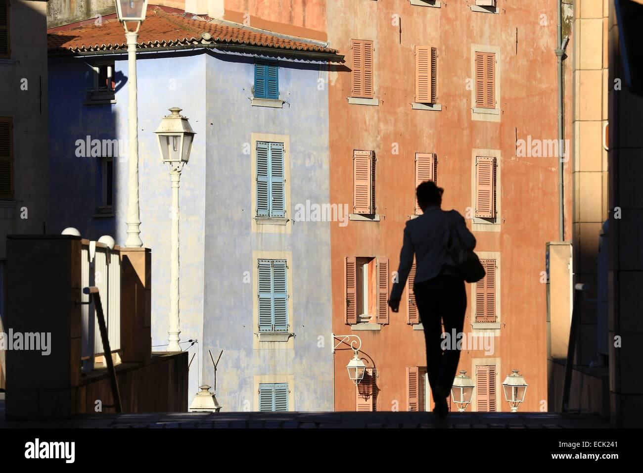 France, Var, Toulon, rising Horeia - Stock Image