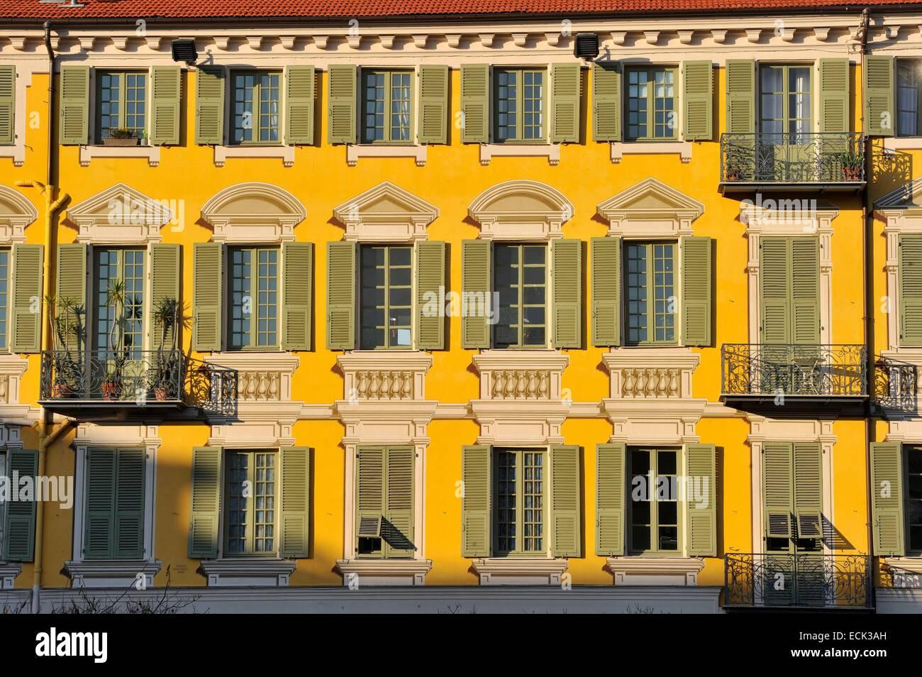 France, Alpes-Maritimes, Nice, place Garibaldi Stock Photo