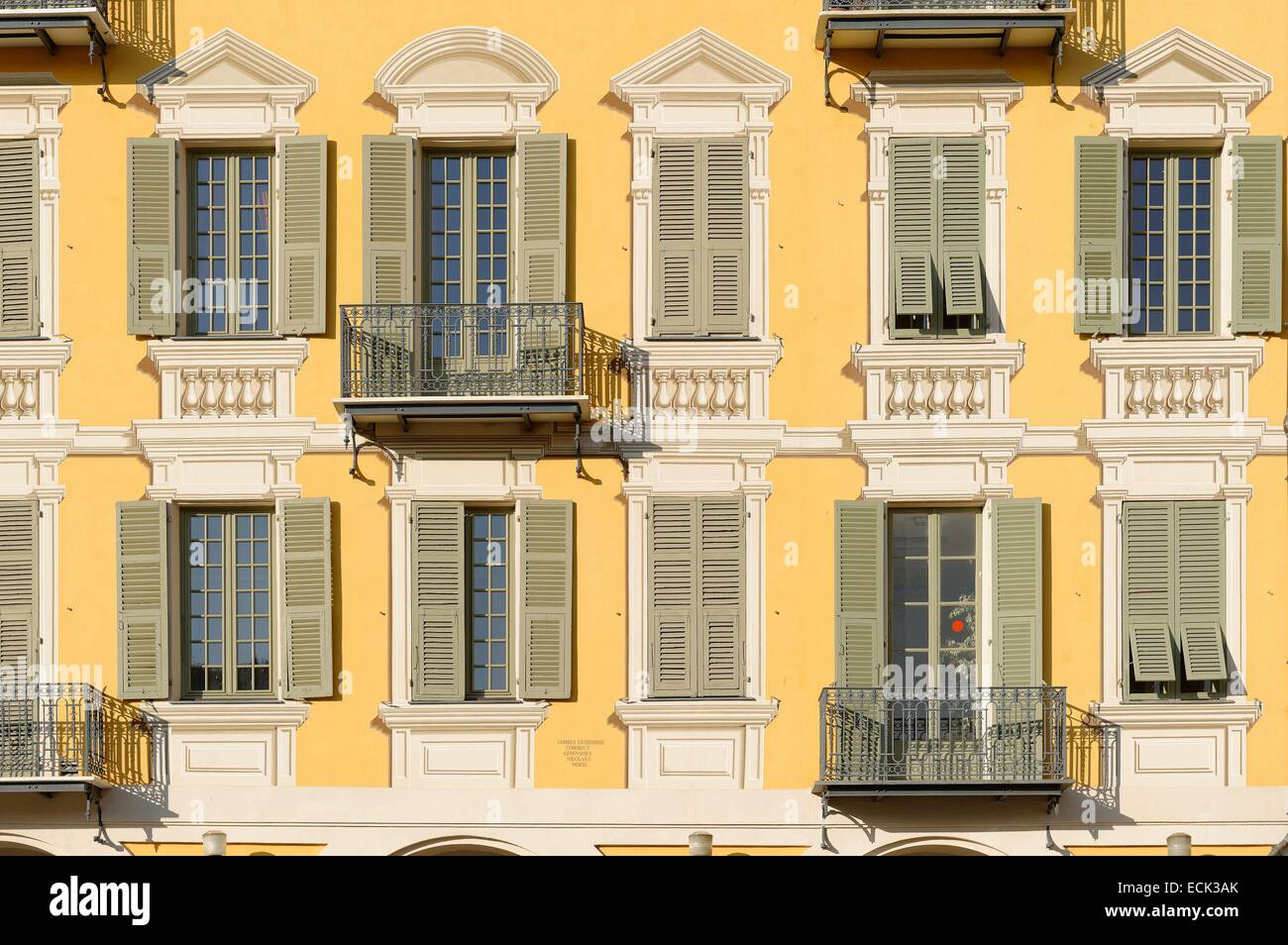 France, Alpes-Maritimes, Nice, place Garibaldi Stock Photo