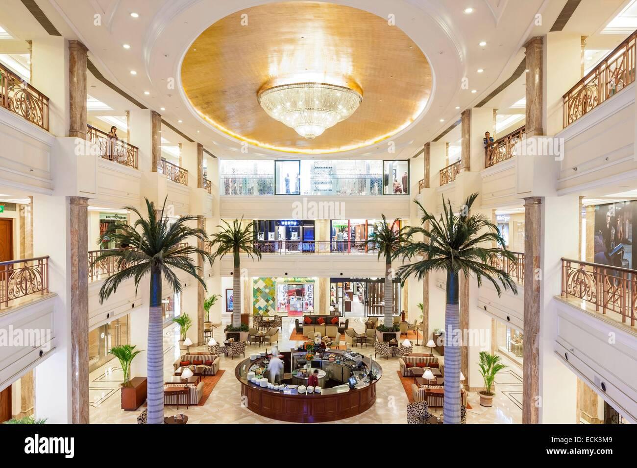 India, New Delhi, Vasant Kunj, luxury mall DLF Emporio - Stock Image
