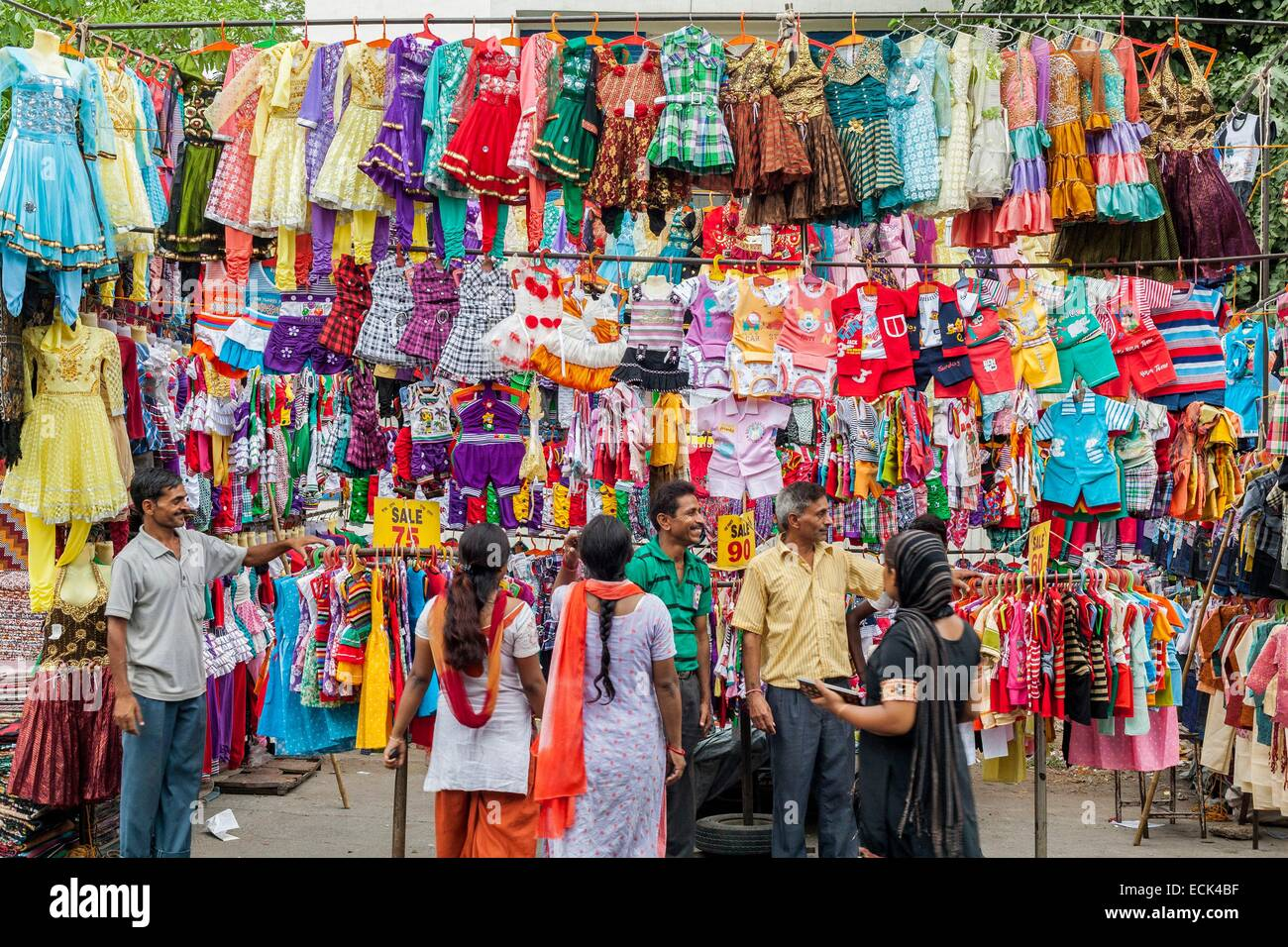 India New Delhi Saket District Saket Market Seller Of Children 39 S Stock Photo 76637891 Alamy