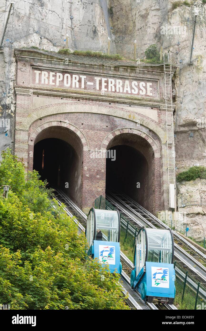 Treport funicular stock photos treport funicular stock - Haute normandie mobel ...