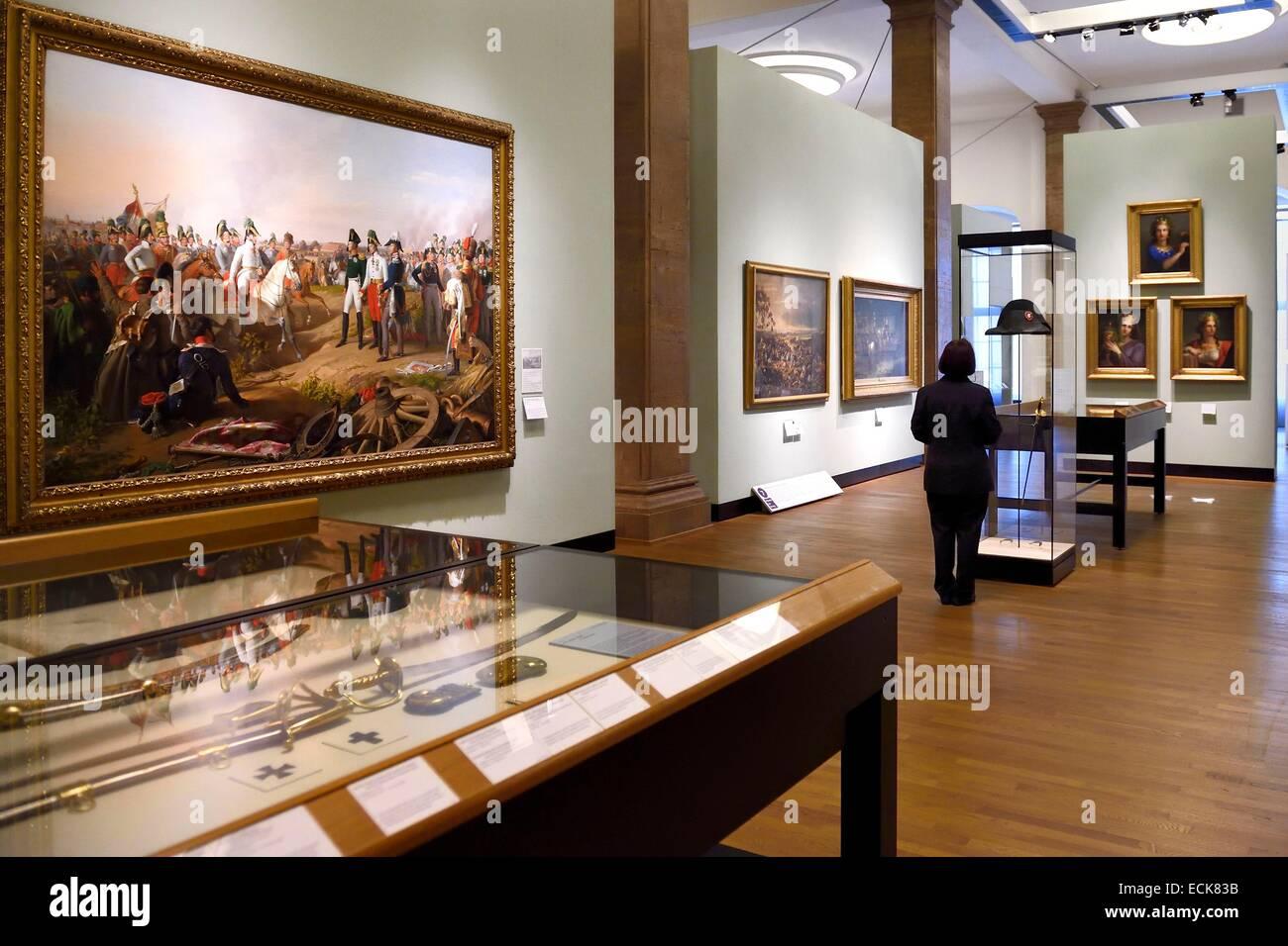 Germany, Berlin, the Deutsches Historisches Museum (German Historical Museum), Napoleonic epopee - Stock Image
