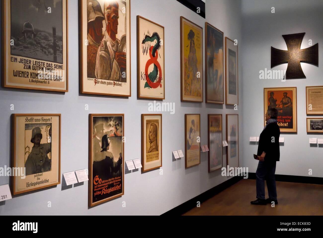 Germany, Berlin, the Deutsches Historisches Museum (German Historical Museum), the first world war - Stock Image