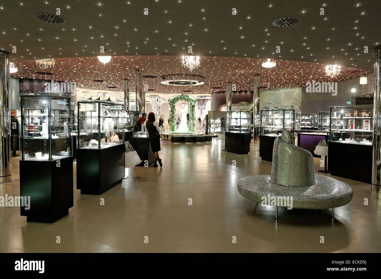 Austria Tyrol Wattens Swarovski Crystal Worlds
