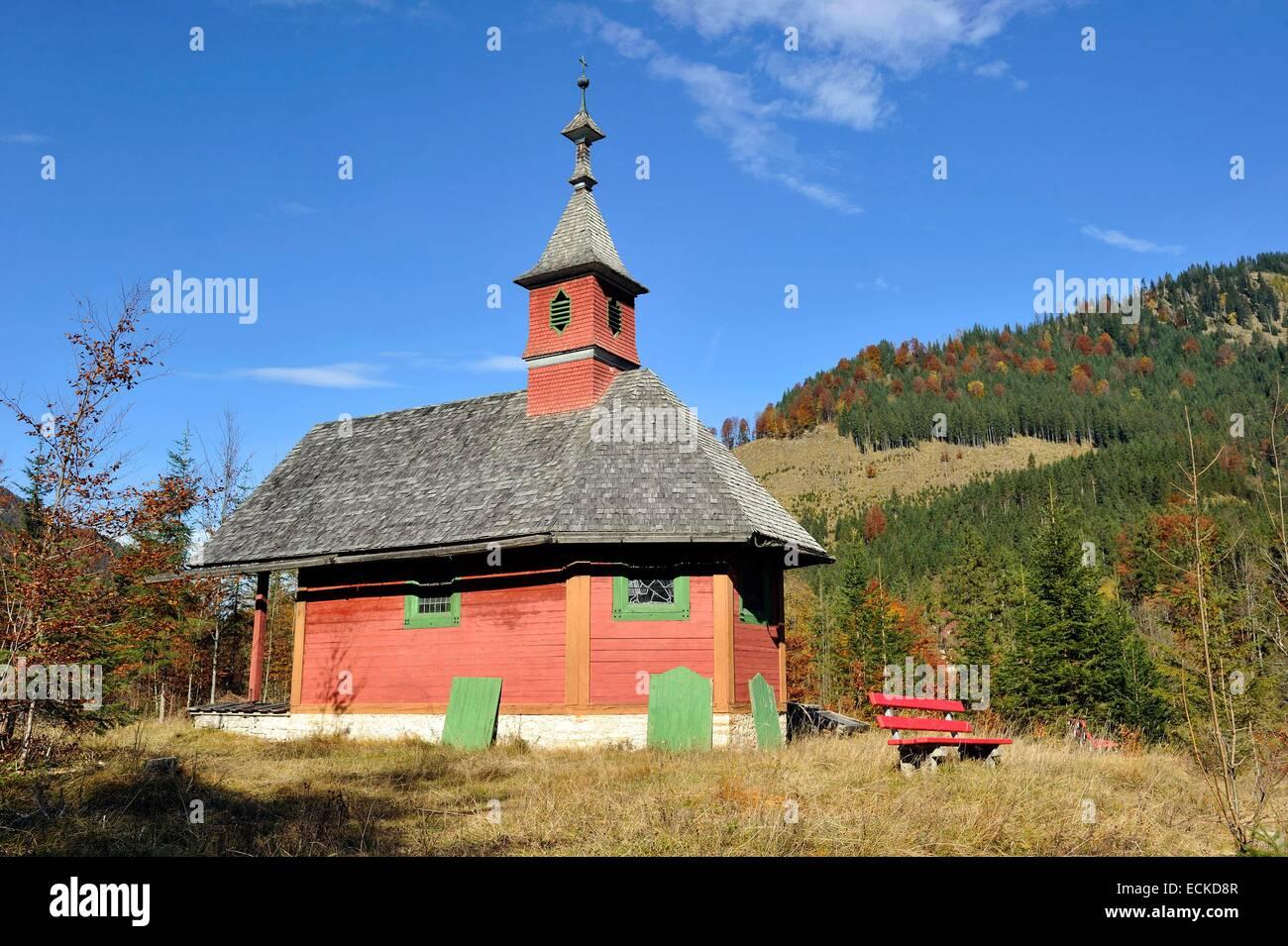 Austria, Tyrol, Karwendel, Grosser Ahornboden, EngTal, Hinterriss - Stock Image