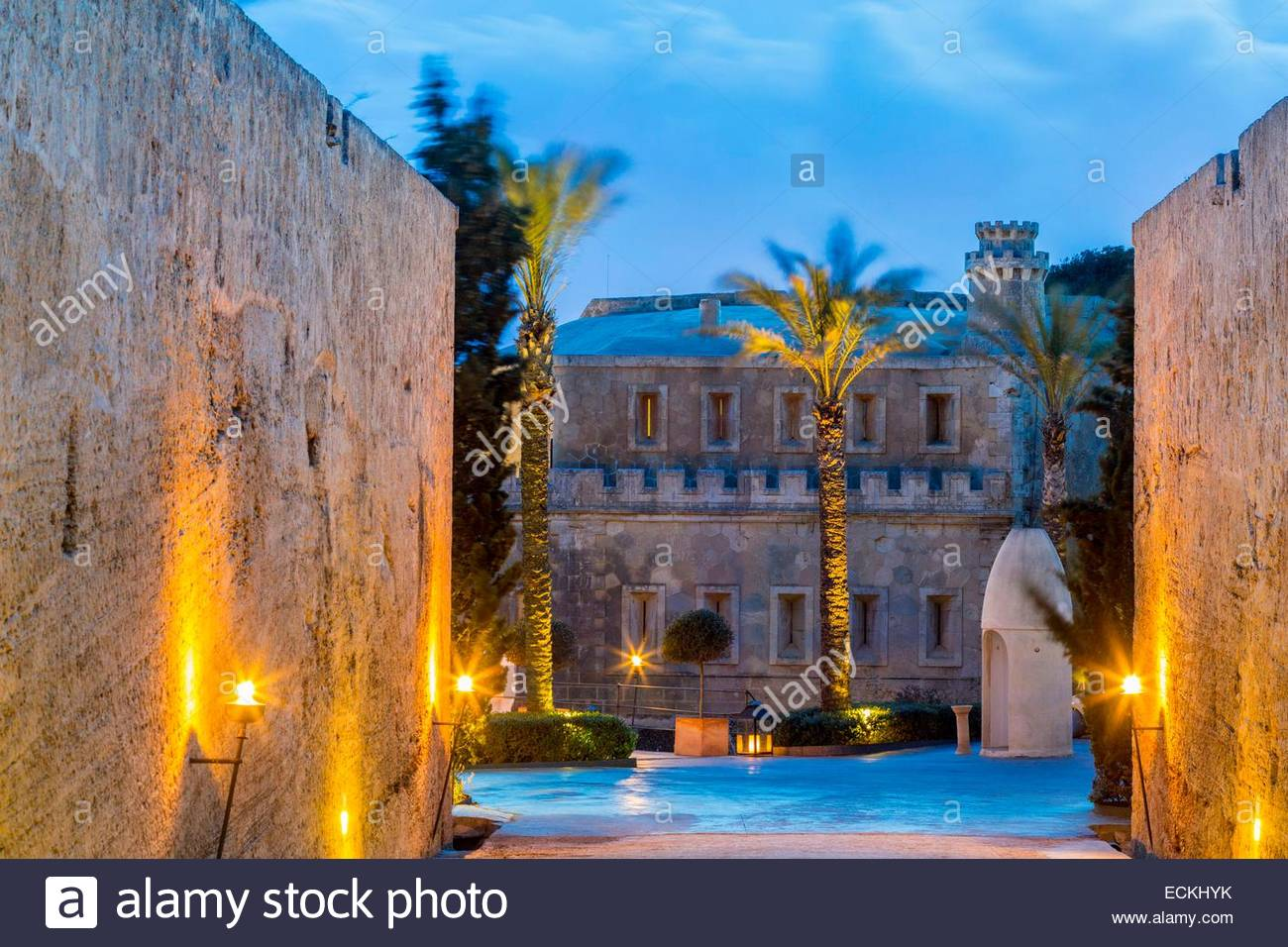 spain balearic islands majorca palma de mallorca bay hotel cap stock photo 76648535 alamy. Black Bedroom Furniture Sets. Home Design Ideas