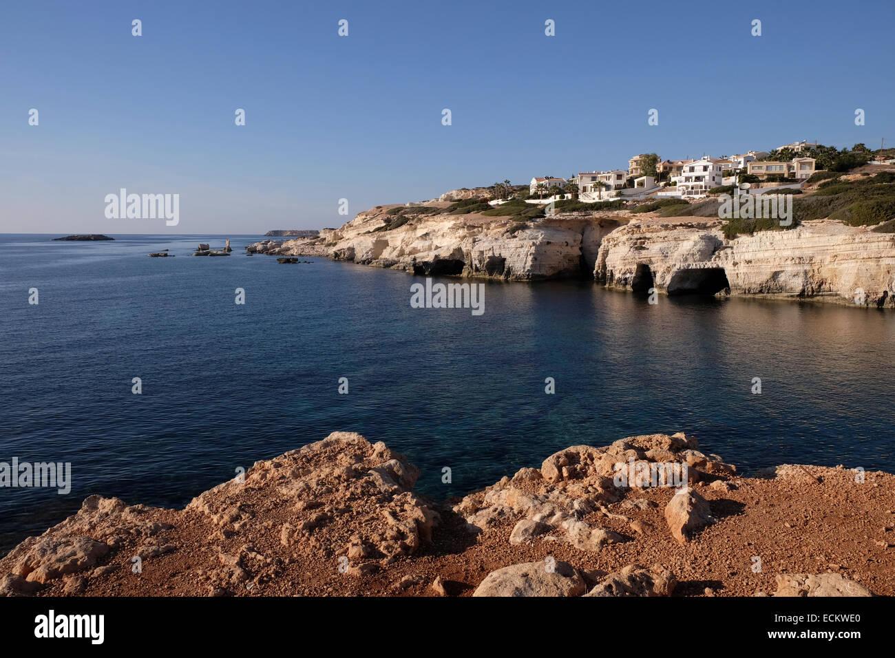 New Coastal Development, Western Cyprus.  Near to Coral Bay - Stock Image