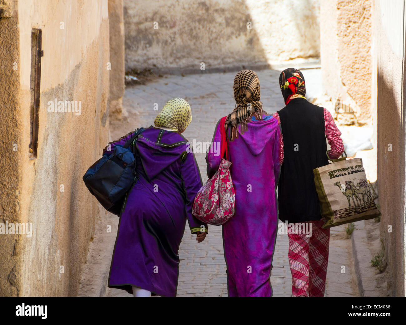 In the Medina, Fes or Fez, Morocco - Stock Image