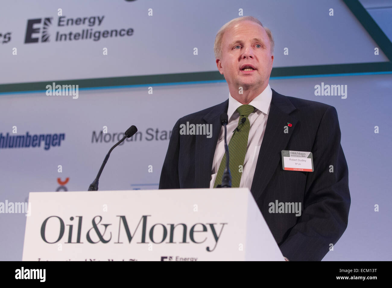 Robert Dudley CEO of BP Group 29.10.2014 - Stock Image