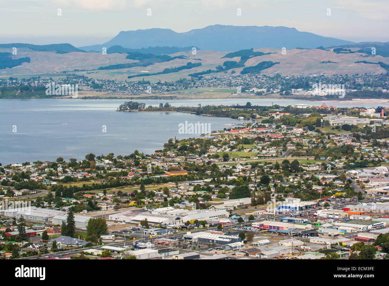 Rotorua New Zealand City High Resolution Stock Photography And Images Alamy