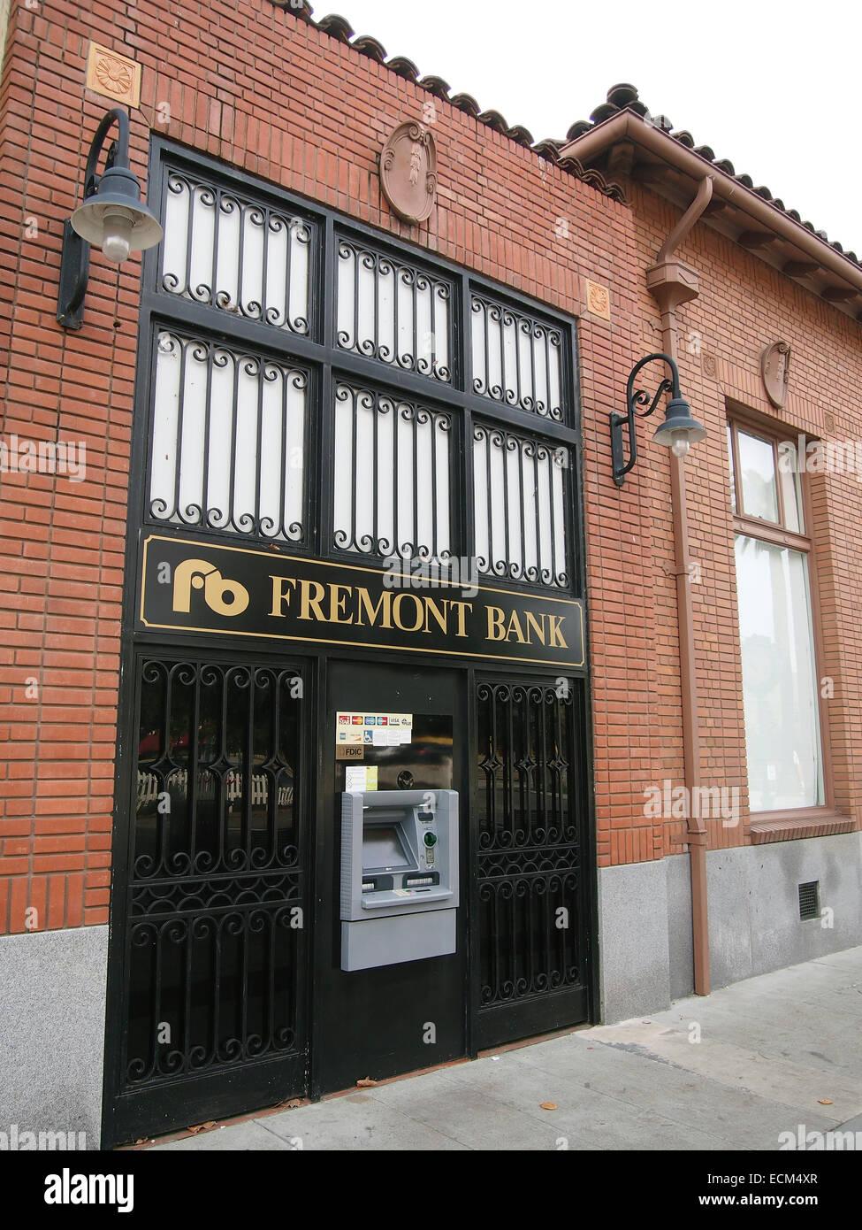 Fremont Bank Building, Fremont, California - Stock Image