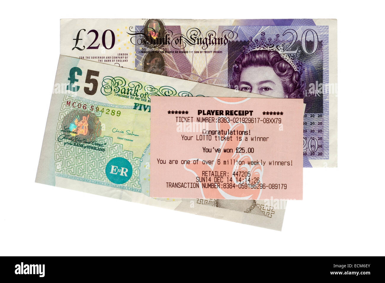 Winning Lottery Stock Photos & Winning Lottery Stock Images - Alamy