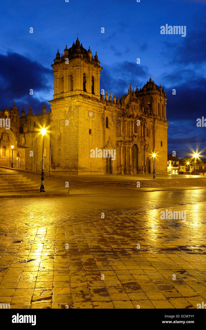 Cusco Cathedral (Nuestra Sra. de la Asuncion), Cusco, Peru - Stock Image