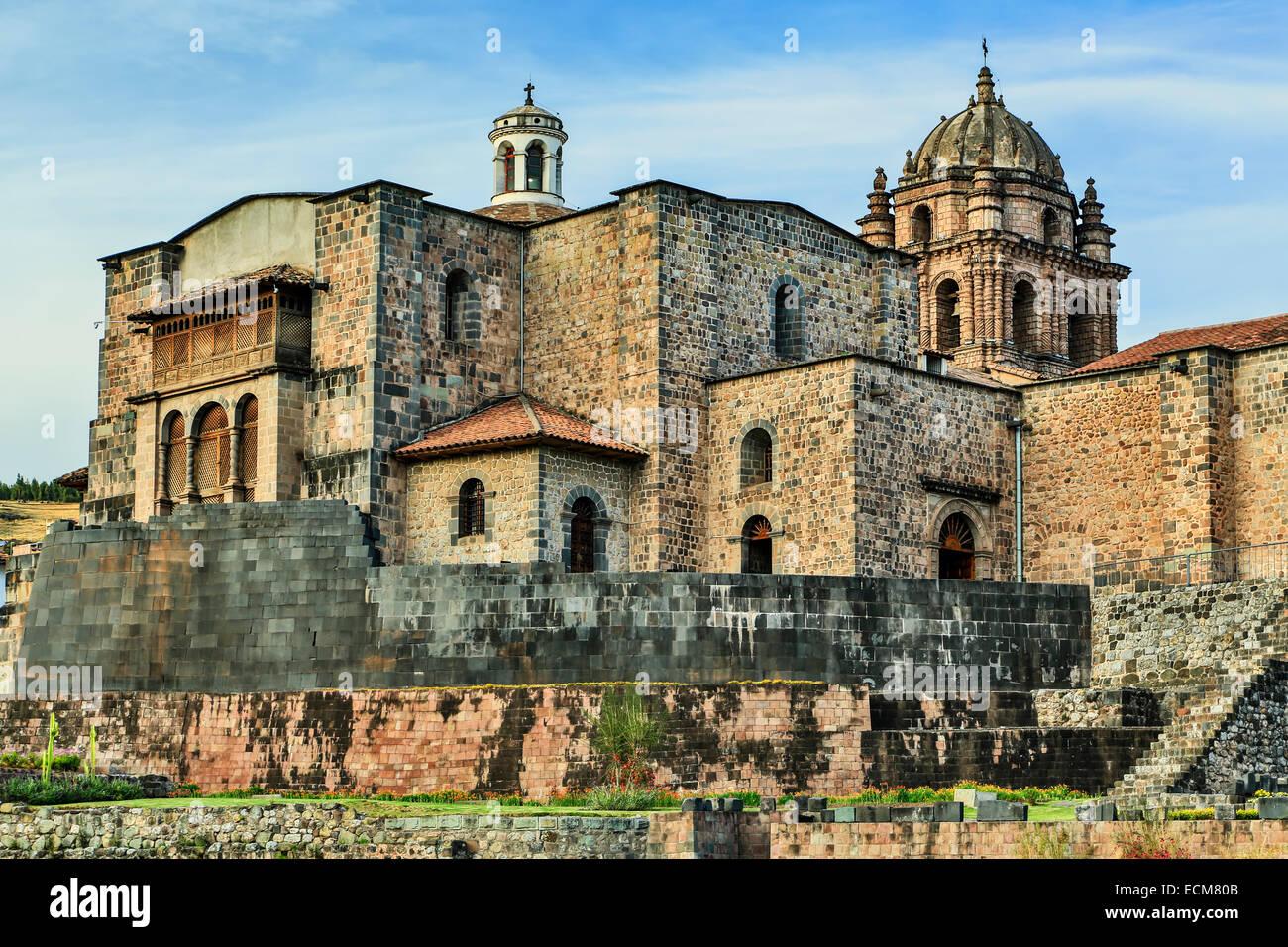 Coricancha, Convento de Santo Domingo del Cusco, Cusco ...