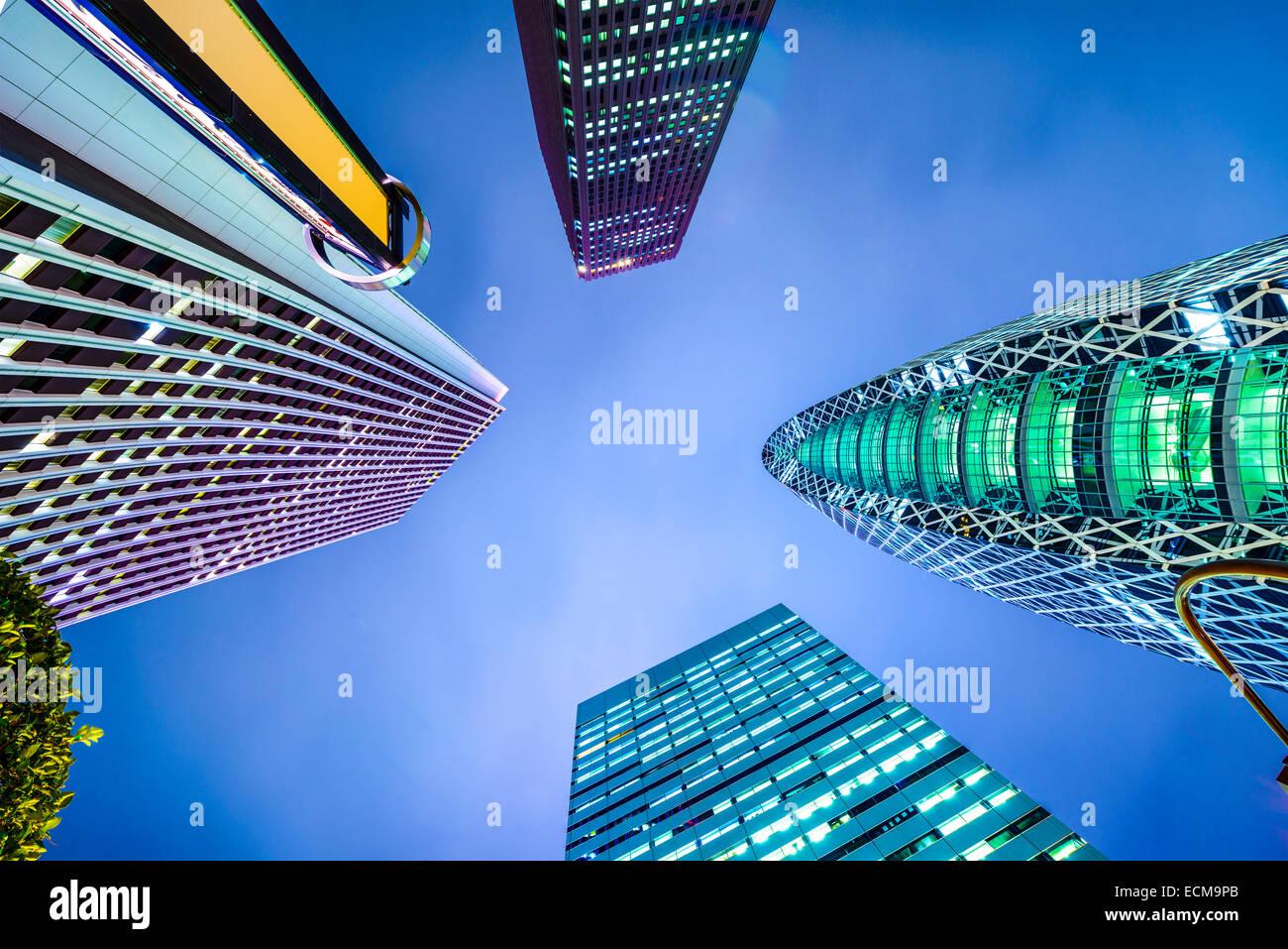 Shinjuku, Tokyo, Japan city skyline. - Stock Image