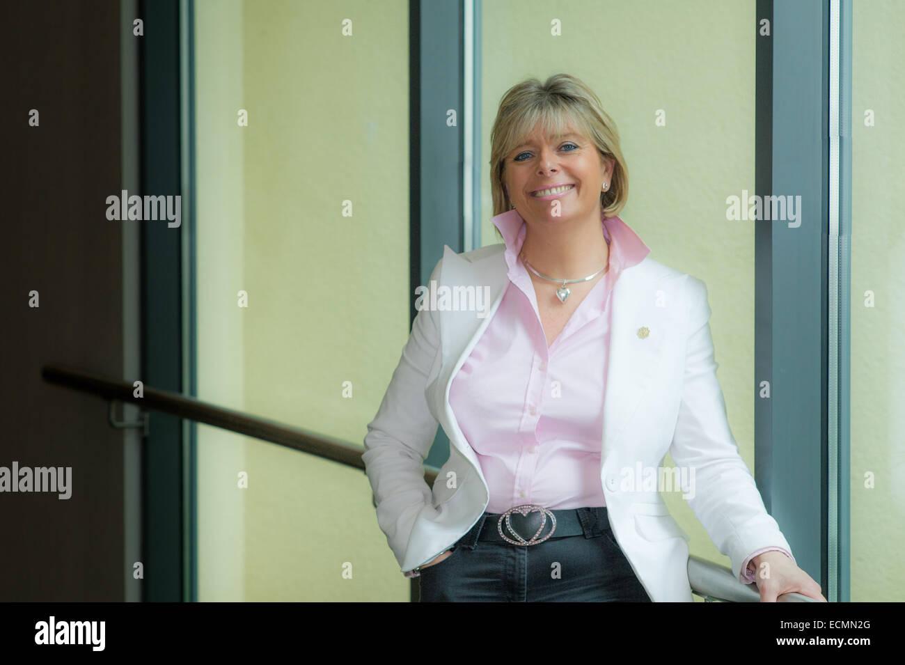 Penny Power OBE founder Ecademy - Stock Image